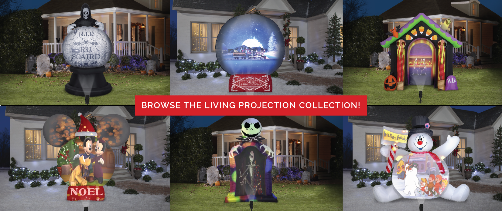 browse all living projection